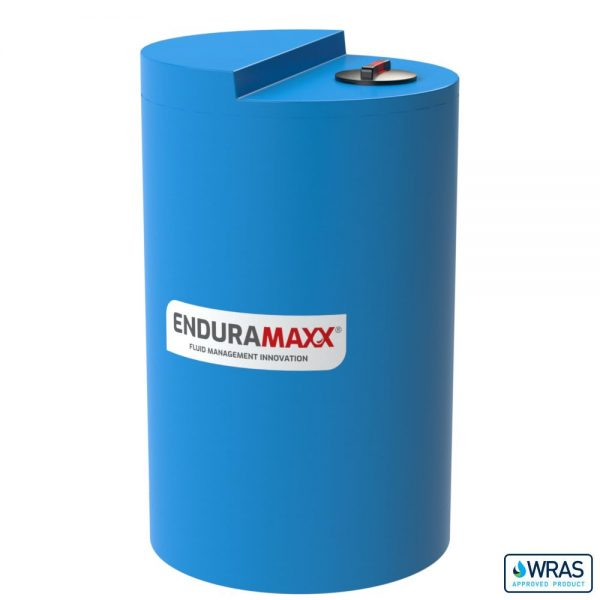 1,000 Litre Chemical Dosing Tank Stepped Lid - Blue