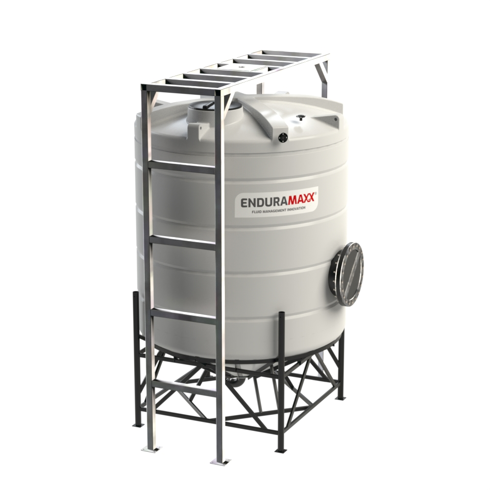 15000 Litre Cone Tank - With Mixer Frame