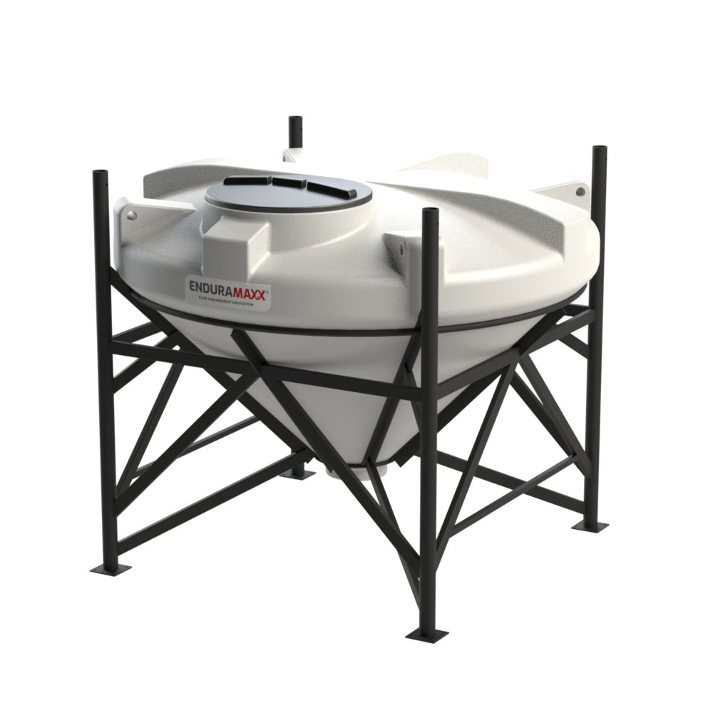 1,500 Litre 45° Closed Top Cone Tank