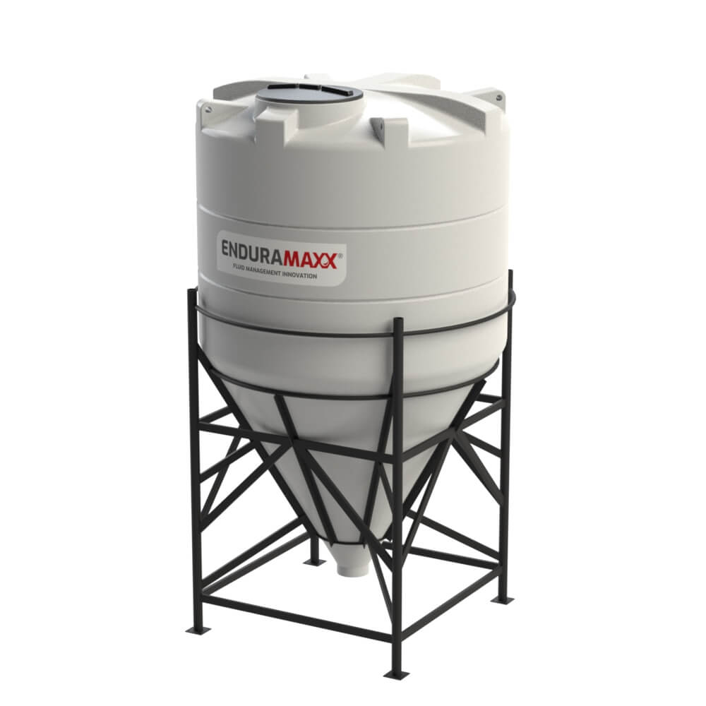 6,000 Litre 60° Closed Top Cone Tank