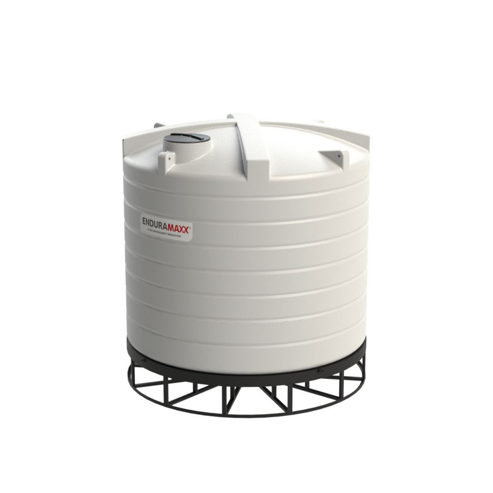 17525002-F 25000 Litre Cone Tank With Frame - Natural
