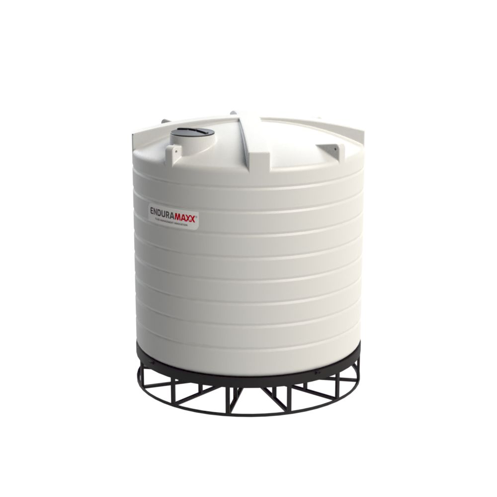 17525502-F 30000 Litre Cone Tank With Frame - Natural