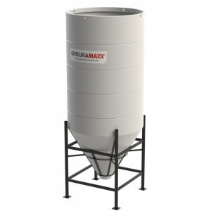 3650 Litre Open Top Cone Tank - 60 degree Cone