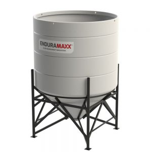 4900 Litre Open Top Cone Tank - 45 degree Cone