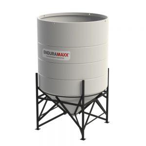 5900 Litre Open Top Cone Tank - 45 degree Cone