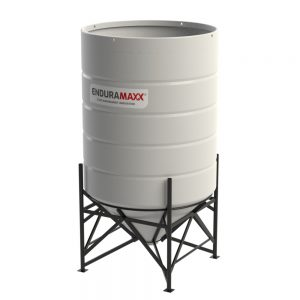6900 Litre Open Top Cone Tank - 45 degree Cone