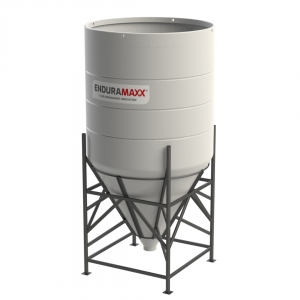 7000 Litre Open Top Cone Tank - 60 degree Cone