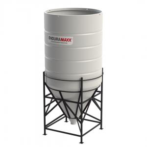 8000 Litre Open Top Cone Tank - 60 degree Cone