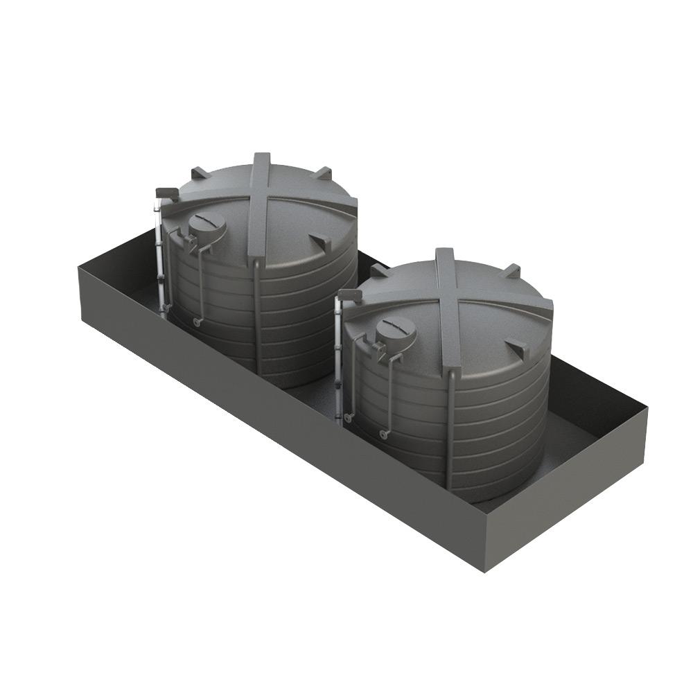 OTB20000 20000 Litre Open Bunded Chemical Tank