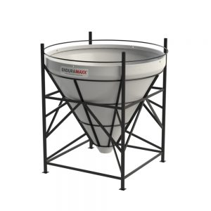 4500 Litre Open Top Cone Tank - 60 degree Cone