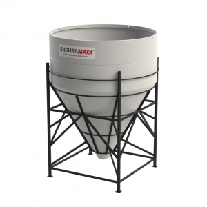 10000 Litre Open Top Cone Tank - 60 degree Cone