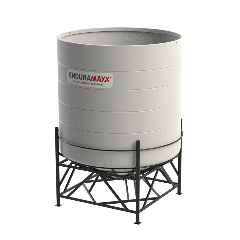 14000 Litre Open Top Cone Tank - 30 degree Cone
