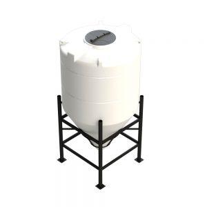1,600 litre 60 degree Cross Link Cone Tank XLPE