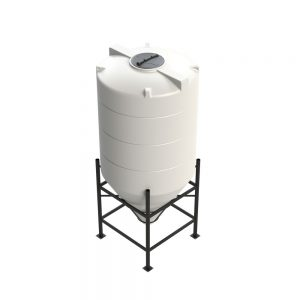 3,150 litre 60 degree Cross Link Cone Tank XLPE