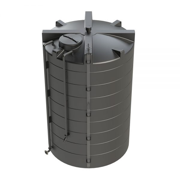 15,000 Litre Bunded Tank with up and over connections
