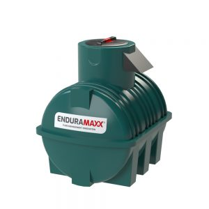 1,000 litre Fluid Category 5 Horizontal Potable Water Tank with Weir - Green