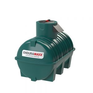 1,500 litre Fluid Category 5 Horizontal Potable Water Tank with Weir - Green