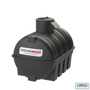 3,000 litre Fluid Category 5 Horizontal Potable Water Tank with Weir - Black