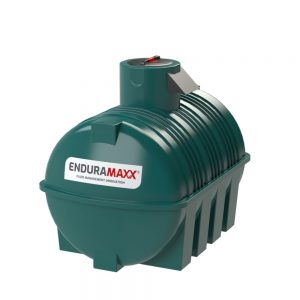 3,000 litre Fluid Category 5 Horizontal Potable Water Tank with Weir - Green