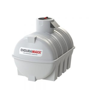 3,000 litre Fluid Category 5 Horizontal Potable Water Tank with Weir - Natural