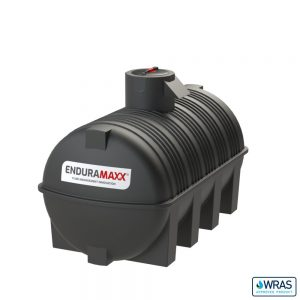5,000 litre Fluid Category 5 Horizontal Potable Water Tank with Weir - Black