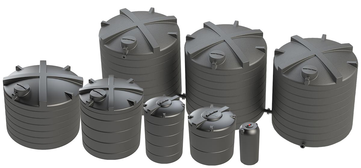 Selection of Enduratank's WRAS Approved Potable Water Tanks