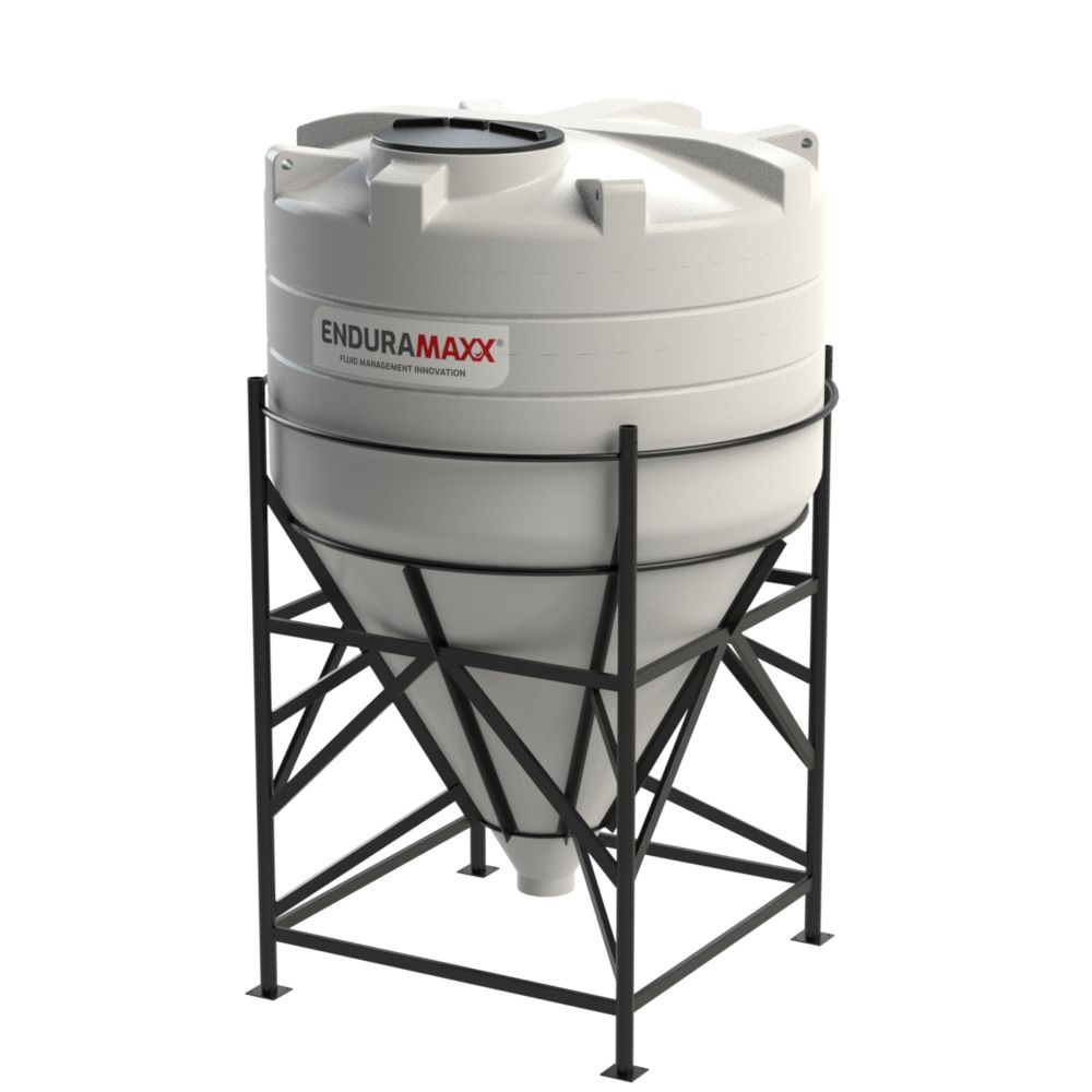 5,000 Litre 60° Closed Top Cone Tank