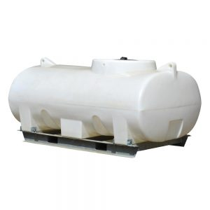 3,000, 4,000 and 5,000 litre horizontal tank with frame