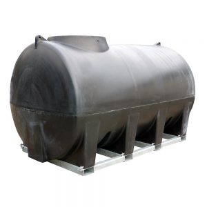 6,000 and 8,000 litre horizontal tank with frame
