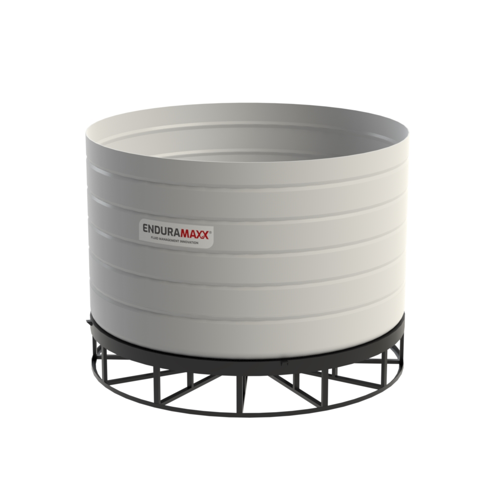 20000 Litre Open Top Cone Tank - 5 degree Cone