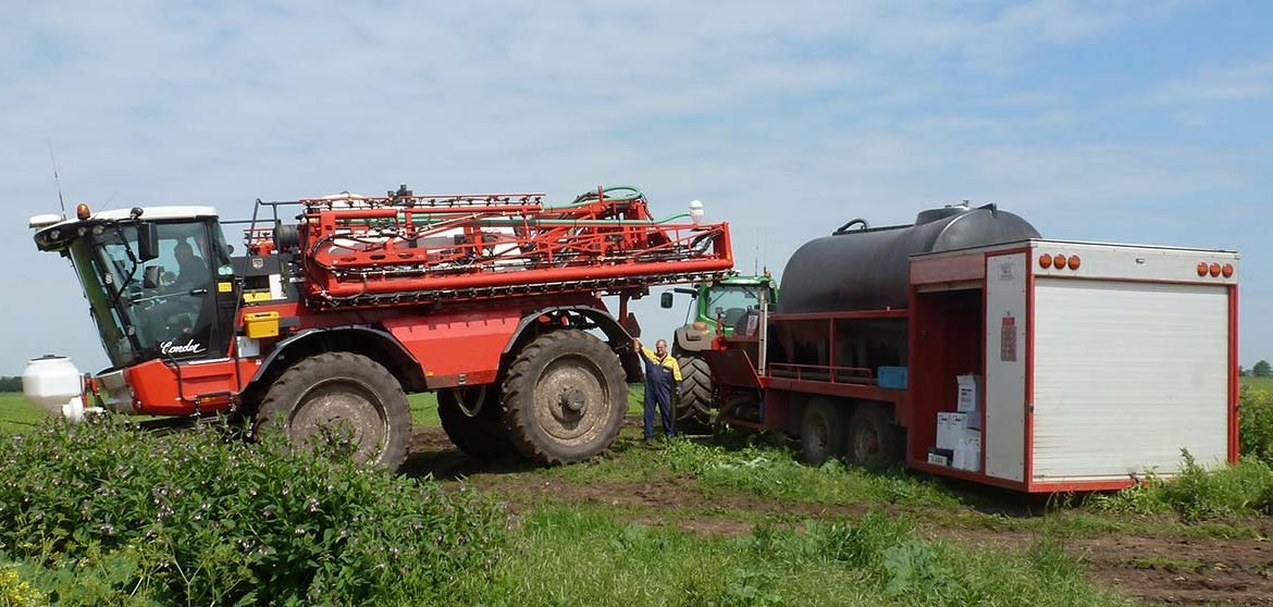 Water and Mixer Bowsers Trailers for Sprayer Operators