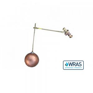 """021631-WA - 1"""" Ball Cock and Float with Drop Arm- WRAS Approved"""