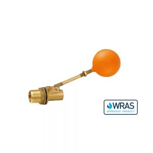 021635-WA - 1.25 Inch Brass Ball Cock and Float - WRAS Approved