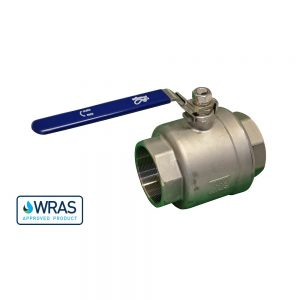 """178530-SSL - 3"""" F/F WRAS Approved Ball Valve - Stainless Steel - Lockable"""