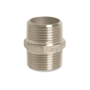 "178825-SS 2.5"" x 2.5"" BSP Threaded Nipple - Stainless Steel"