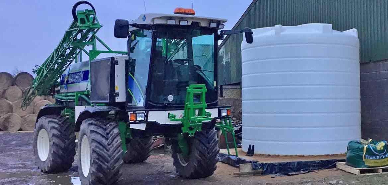 Polyethylene vs GRP Tanks for Liquid Fertiliser