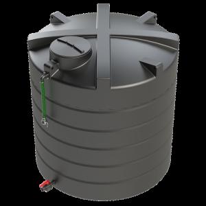 10,000 litre waste tank with Bauer Filler