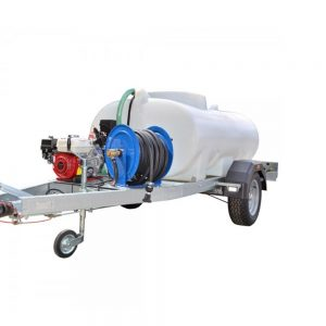1,200 Litre Highway Tow Trailer Mounted Dust Suppression Unit