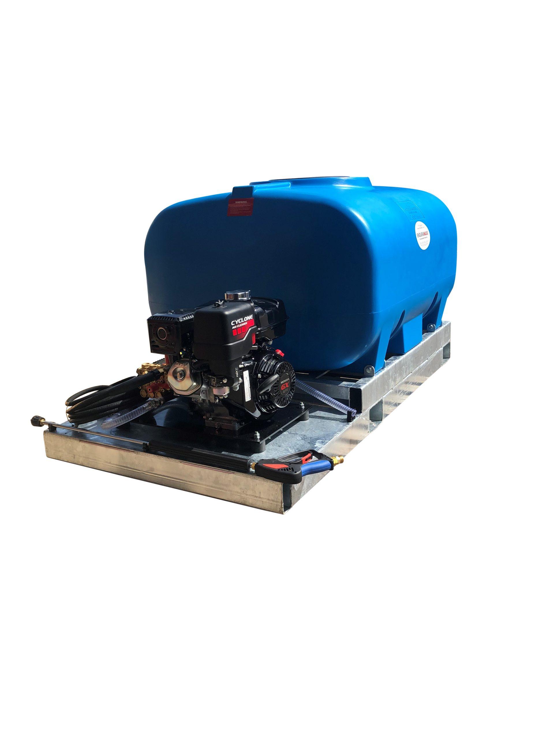 Skid Pressure Washer Bowser