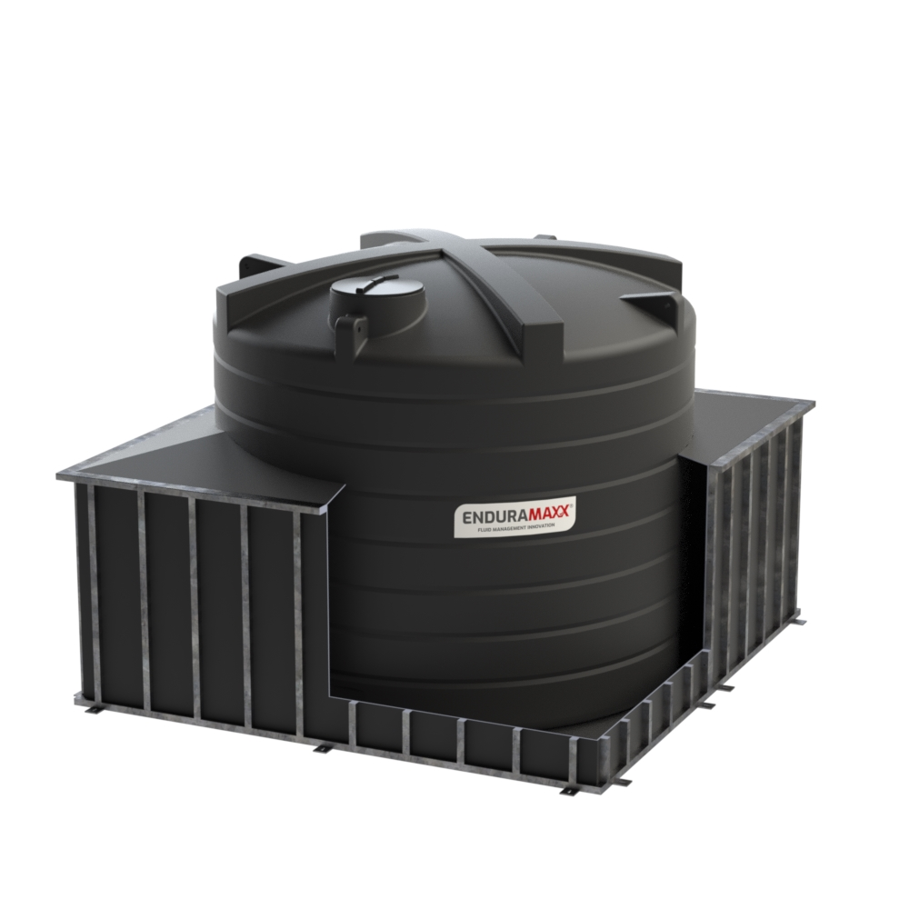 CTB25000-Skirt 25000 litre Bunded Chemical Tank