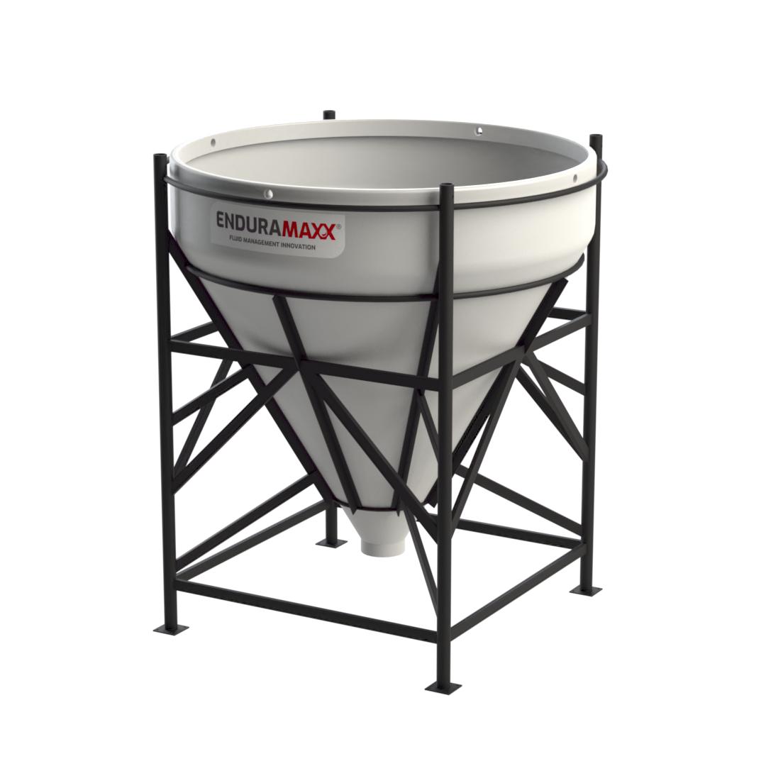 17510945 2,000 Litre Open Top Cone Tank – 60° Cone