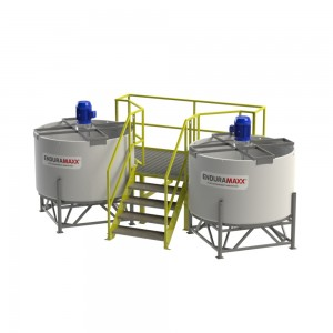 Mixer Tank Access Ladder Mezzanines