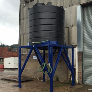 Raised Water Tank Frame