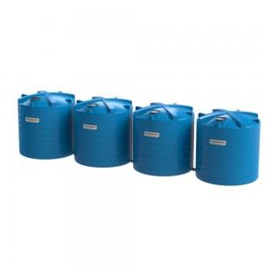 120000 litre rainwater tank-Blue