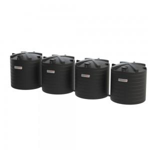 120000 litre rainwater tank-black