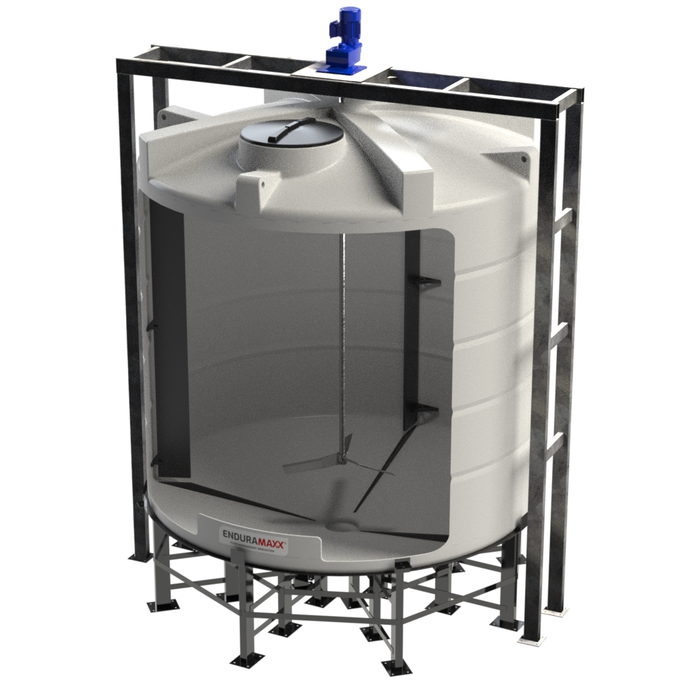 13000 Litre Conical Mixer Tank