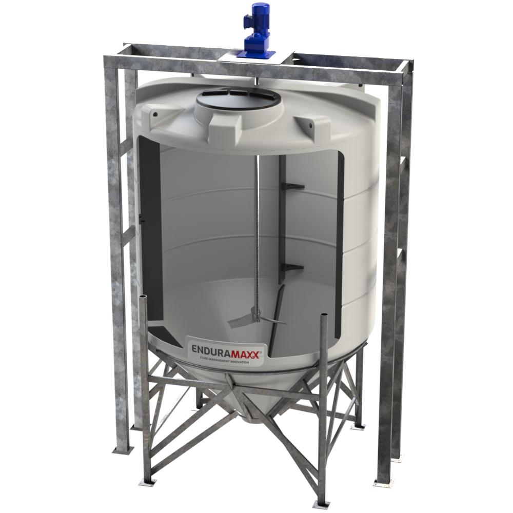 6000 Litre Conical Mixer Tank