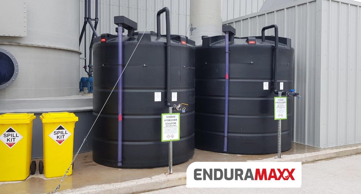 Enduramaxx Chemical Storage Tanks with Secondary Containment