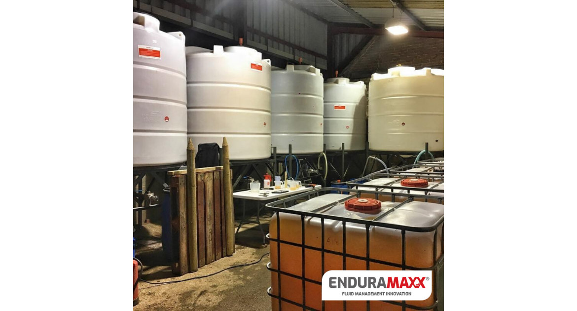 Enduramaxx Storage Tanks for CIP Clean In Place Systems