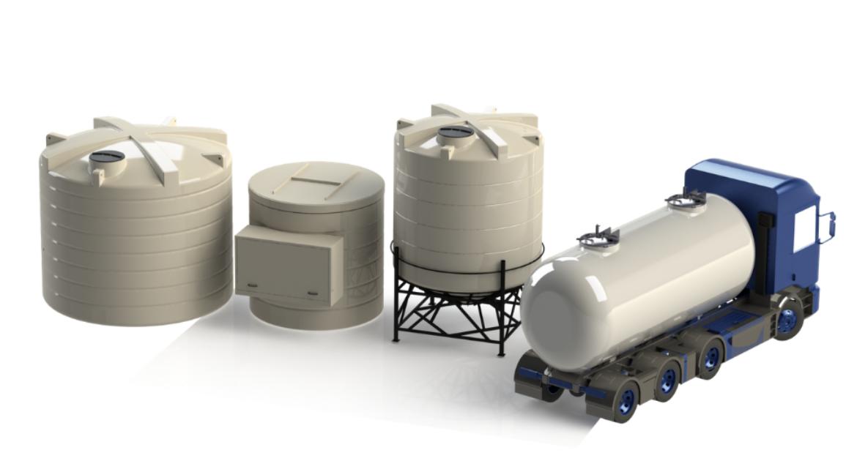 Enduramaxx Brine Tanks For Road De-icing